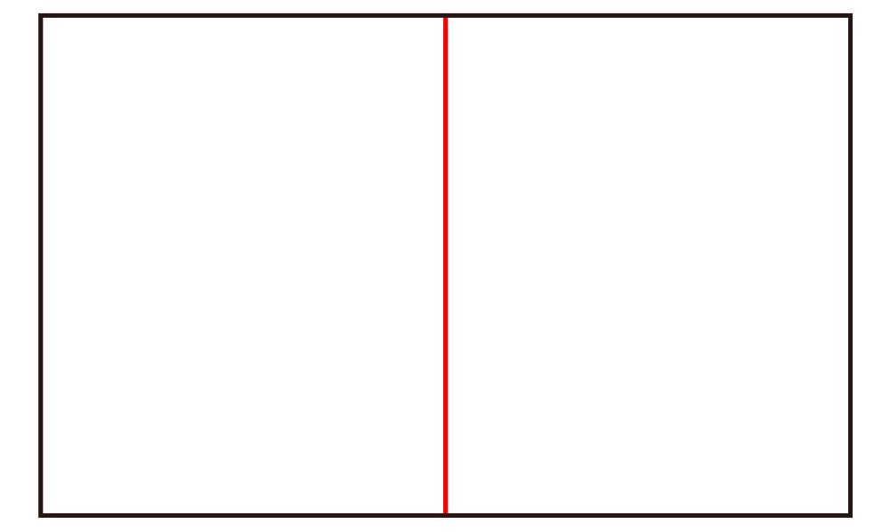 イラストの構図二分割_1