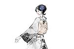 着物,振袖,女性,イラスト制作のご依頼