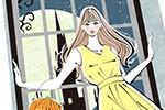 ハロウィン 女性 女の子 イラスト