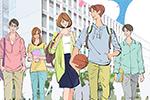 敬愛大学 学内タブロイド紙「IMG」表紙イラスト