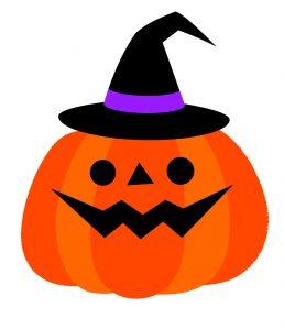ハロウィン かぼちゃのイラスト