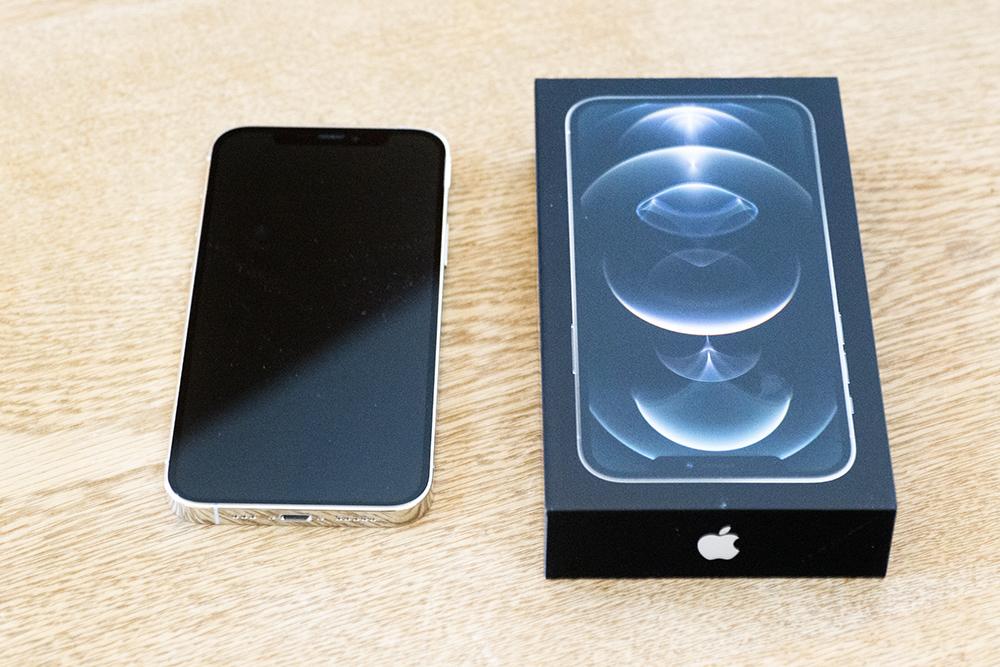 iPhone12 Proが届きました/バックアップの取り込み