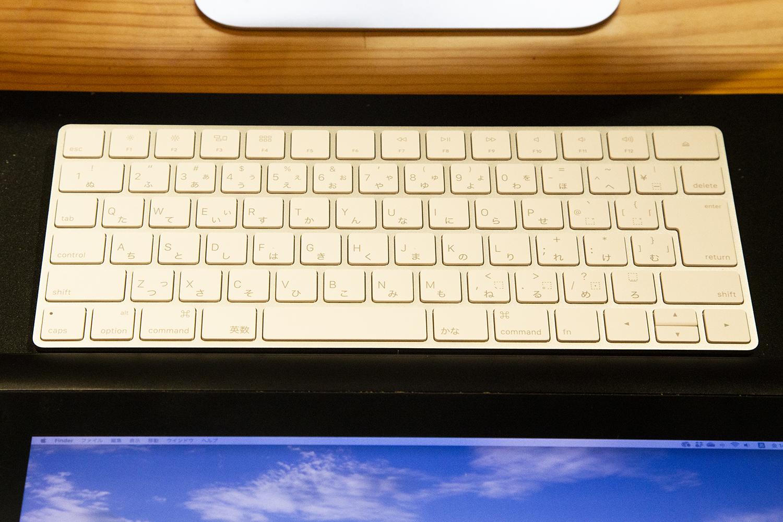 iMacのキーボード