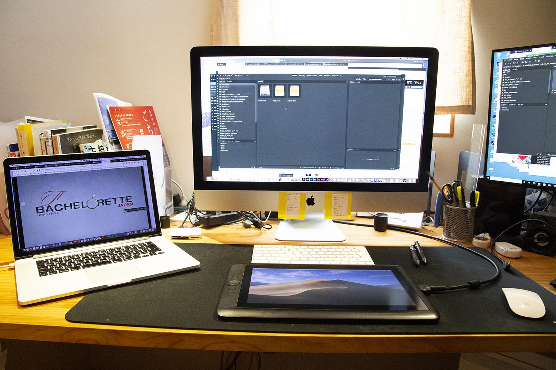イラスト制作の仕事部屋