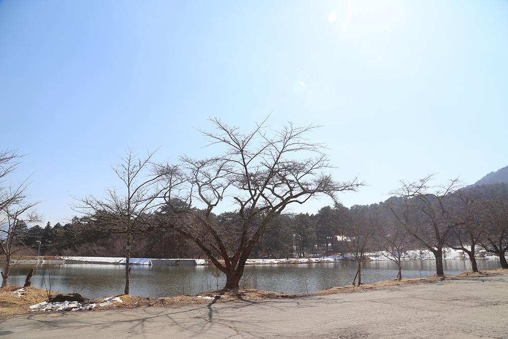 駒ヶ根市・大沼湖
