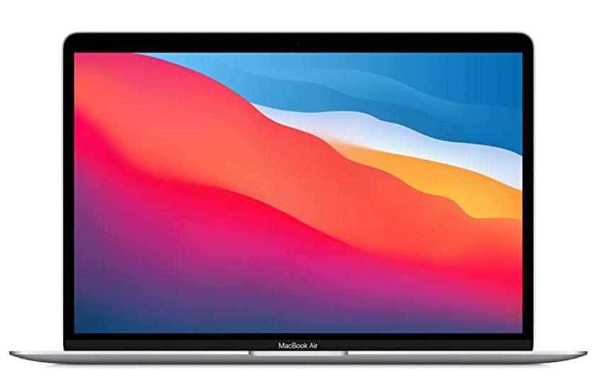 最新 Apple MacBook Air Apple M1 Chip (13インチPro, 8GB RAM, 512GB SSD) - シルバー
