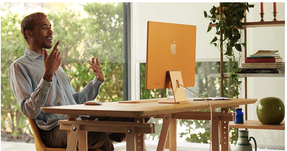 M1チップ搭載・新型iMac24インチ